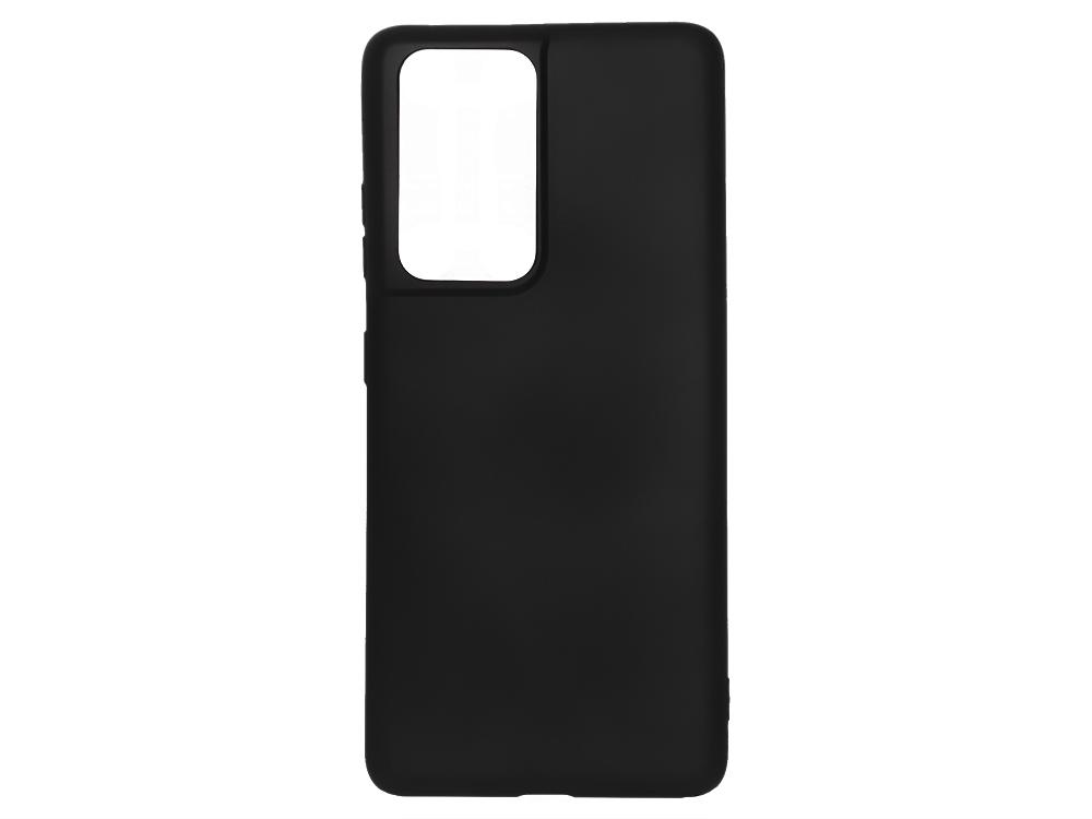 Силиконов гръб Level за Samsung Galaxy S21 Ultra, Черен