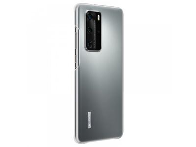 Оригинален пластмасов гръб за Huawei P40 Pro, Прозрачен