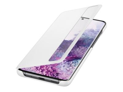 Оригинален Калъф S-View за Samsung Galaxy S20 Plus, Бял
