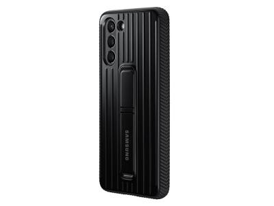 Оригинален Гръб Samsung Protective Standing за Samsung Galaxy S21, Черен