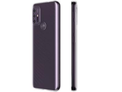 Силиконов калъф 0.5mm за Motorola Moto G10, Прозрачен