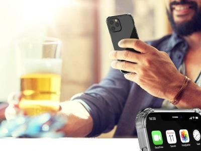 Силиконов калъф Drop Resistant за iPhone 12 / 12 Pro, Прозрачен
