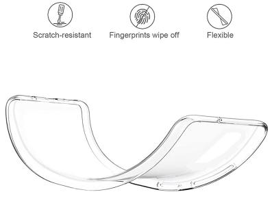 Силиконов калъф 0.5mm за Xiaomi Redmi Note 10 / 10s, Прозрачен