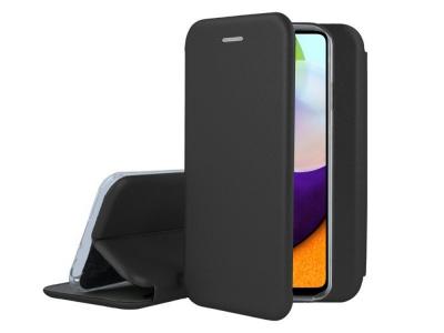 Калъф Тефтер ELEGANCE за Samsung Galaxy A52 LTE / A52 5G, Черен