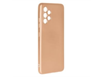 Силиконов калъф Level за Samsung Galaxy A32 4G LTE, Златист