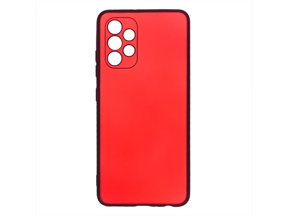 Силиконов калъф Level за Samsung Galaxy A72, Червен