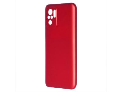 Силиконов калъф Level за Xiaomi Redmi Note 10, Червен