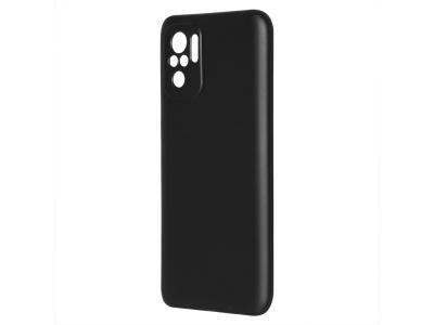 Силиконов калъф Level за Xiaomi Redmi Note 10, Черен