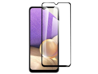 Стъклен Протектор 9D Full за Samsung Galaxy A32 4G, Черен