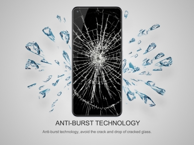 Стъклен Протектор 5D Full Glue за Samsung Galaxy A72, Черен