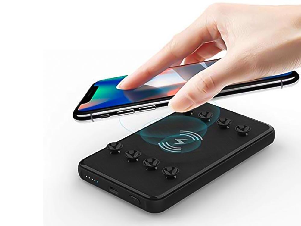 Универсална Външна Батерия UK-200  10 000mAh wireless charger , Черен