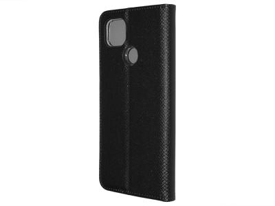 Калъф Тефтер Smart Book за Motorola G9 Power, Черен