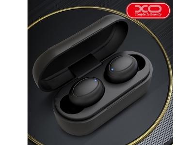 Слушалки TWS XO Bluetooth X1, Черен
