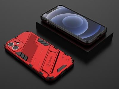 Удароустойчив Гръб Shockproof за iPhone 11, Червен