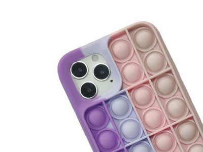Силиконов калъф Push Pop Bubble за iPhone 11, Лилав