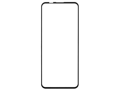 Стъклен протектор 5D Full Glue за Motorola Edge S / Moto G100, Черен