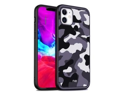 Силиконов калъф Camouflage за iPhone 12 Pro/12, Камуфлаж син
