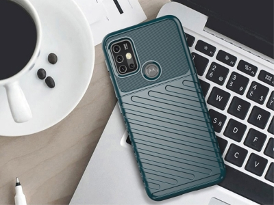 Силиконов Гръб Thunder за Motorola Moto G30 / Moto G10, Зелен
