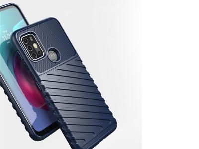 Силиконов Гръб Thunder за Motorola Moto G30 / Moto G10, Син