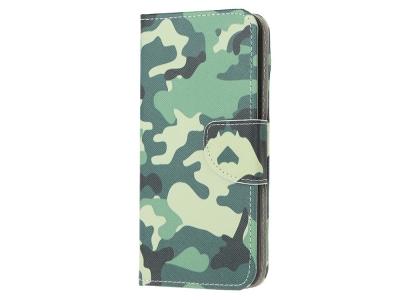 Калъф Тефтер Leather за Motorola Moto G30/ G10, Камуфлаж