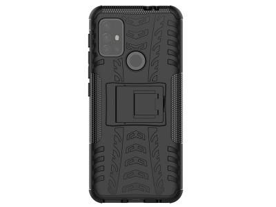 Удароустойчив Калъф Hybrid за Motorola Moto G30, Черен