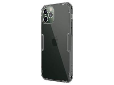 Силиконов калъф Nillkin Nature за iPhone12 / 12 Pro, Сив