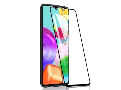 Стъклен Протектор 9D Full за Samsung Galaxy A41, Черен