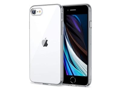 Силиконов калъф 2mm за iPhone 7 /8 /SE2, Прозрачен
