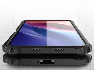 Удароустойчив калъф Armor за Xiaomi Poco F3, Черен