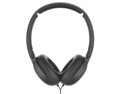 Слушалки с микрофон PHILIPS TAUH201BK ON-EAR, Черен