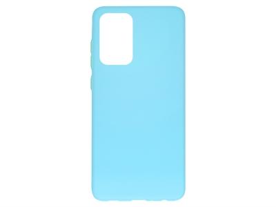 Силиконов калъф Solid за Samsung Galaxy A72 4G/5G, Син
