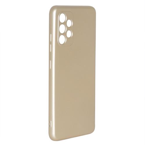 Силиконов калъф Level за Samsung Galaxy A32 4G (camera protection), Златист