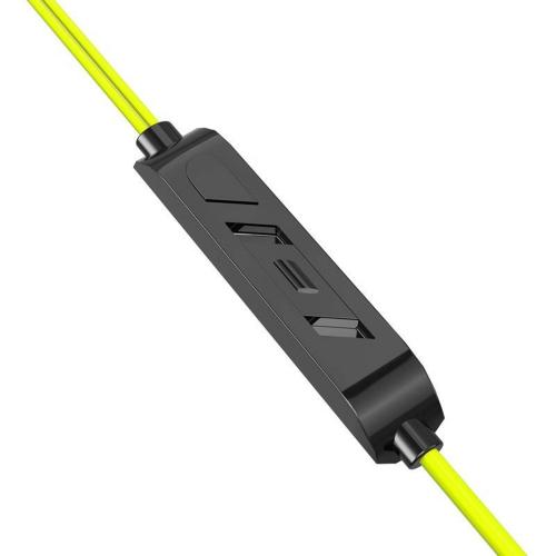 Слушалки с микрофон MP3 KAKU KSC-379, Жълт