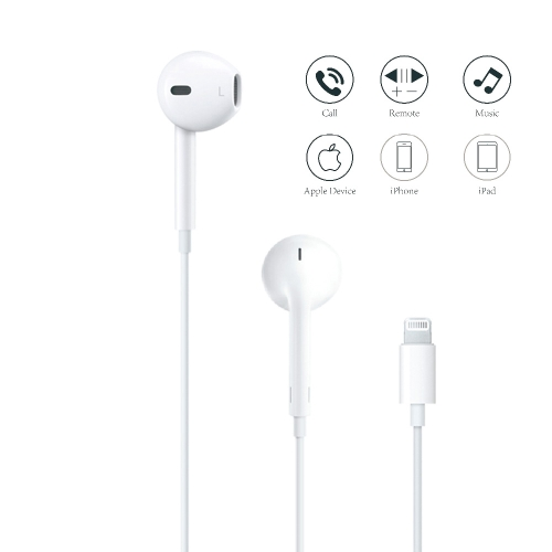 Оригинални Слушалки Apple Lightining MMTN2ZM/A iPhone 7/7+/8/8+ EU Blister