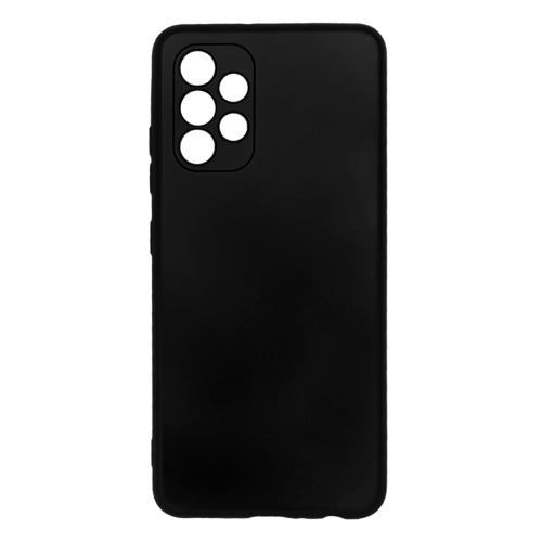 Силиконов калъф Level за Samsung Galaxy A72 (camera protection), Черен