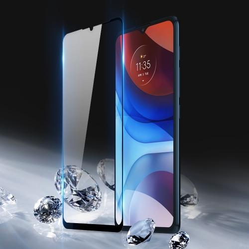 Стъклен Протектор Full Glue 10D за Motorola Moto E7 Power/Moto E7i Power, Черен