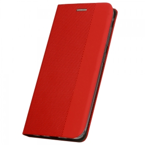Калъф Тефтер SENSITIVE за Xiaomi Mi 11 Lite 4G/5G, Червен