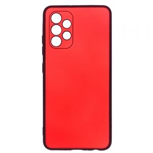Силиконов калъф Level за Samsung Galaxy A72 camera protection, Червен