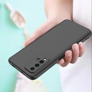 Силиконов калъф Level за Xiaomi Redmi 9T, camera protection, Черен