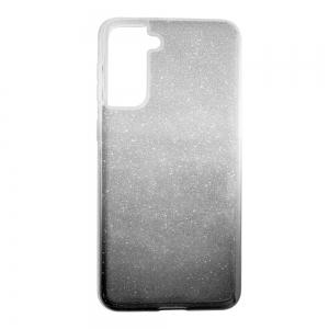 Силиконов Гръб Bling за Samsung Galaxy S21 Plus,Черен