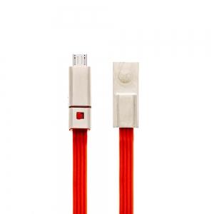 USB кабел Отрежи/Поправи microUSB 1.5 m,Червен