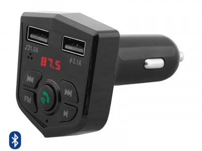 ФМ Трансмитер Bluetooth MXFT-02, Черен