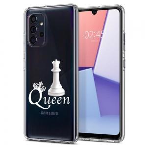 Силиконов калъф Color за Samsung Galaxy A72, Кралица